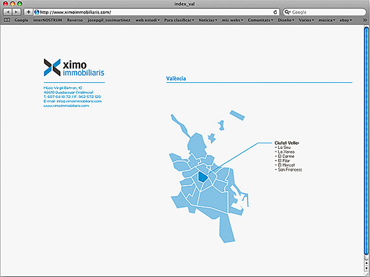 Web . Ximo Immobiliaris